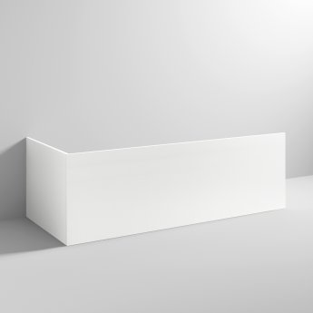 Nuie Acrylic Bath Front Panel 510mm H x 1800mm W - White