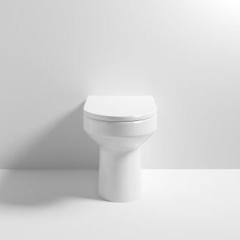 Nuie Harmony Back to Wall Toilet 520mm Projection - Excluding Seat