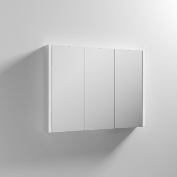 Nuie Lux Bathroom Cabinet   NVM116   900mm   White