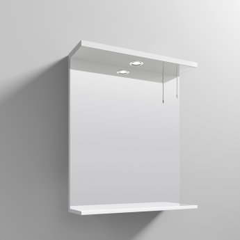 Nuie Mayford Complementary Bathroom Mirror 650mm W White