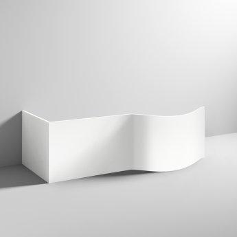 Nuie Acrylic Bath End Panel 510mm H x 700mm W - White