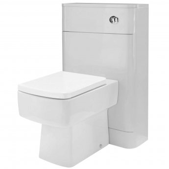 Nuie Parade Back to Wall WC Unit 550mm Wide - Grey Mist