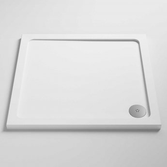 Nuie Pearlstone Square Shower Tray 760mm x 760mm