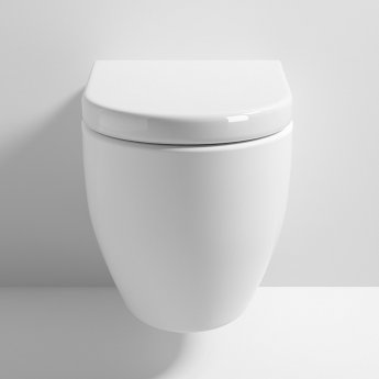 Nuie Provost Wall Hung Toilet WC 510mm Projection - Excluding Seat