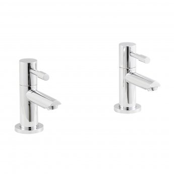 Nuie Series 2 Basin Taps Pair - Chrome