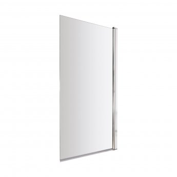 Nuie Square Bath Screen 1430mm High x 770-785mm Wide - 6mm Glass
