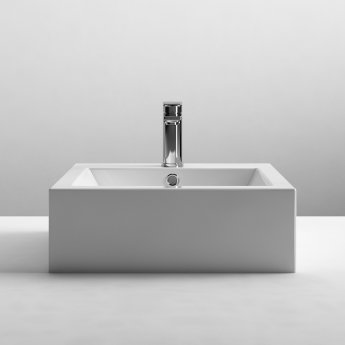 Nuie Vessels Sit-On Countertop Basin 470mm Wide - 1 Tap Hole