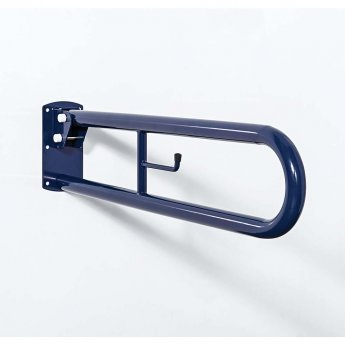 Nymas NymaPRO Trombone Lift and Lock Grab Rail 550mm Length - Dark Blue