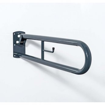 Nymas NymaPRO Trombone Lift and Lock Grab Rail 800mm Length - Dark Grey