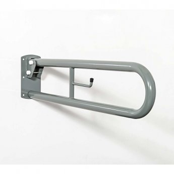 Nymas NymaPRO Trombone Lift and Lock Grab Rail 800mm Length - Grey