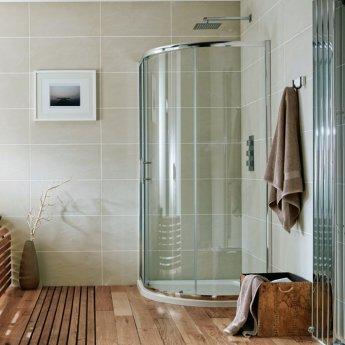 Orbit A6 Single Door Quadrant Shower Enclosure 900mm x 900mm - 6mm Glass