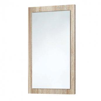Orbit Wood Frame Bathroom Mirror 800mm H x 500mm W - Driftwood