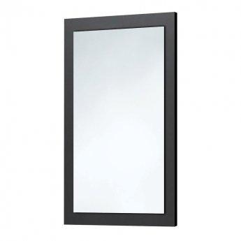Orbit Wood Frame Bathroom Mirror 800mm H x 500mm W - Graphite Grey