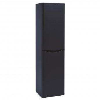 Orbit Contour Wall Hung Tall Storage Unit 400mm Wide - Indigo Blue