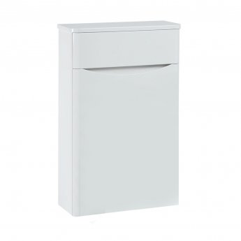 Orbit Contour Back to Wall WC Toilet Unit 500mm Wide - Gloss White
