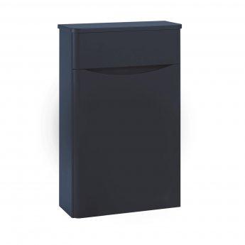 Orbit Contour Back to Wall WC Toilet Unit 500mm Wide - Indigo Blue