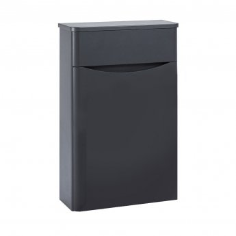 Orbit Contour Back to Wall WC Toilet Unit 500mm Wide - Graphite Grey