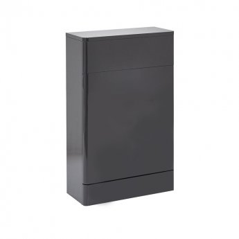 Orbit Eve Back to Wall WC Toilet Unit 500mm Wide - Wolf Grey