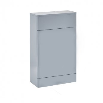 Orbit Eve Back to Wall WC Toilet Unit 500mm Wide - Pebble Grey