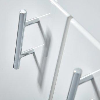 Orbit Lanza Combination Furniture Pack 550mm Vanity Unit 550mm WC Unit 1 Tap Hole
