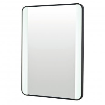 Orbit Mono Soft Square Colour Changing Bathroom Mirror with Demister Pad 700mm H x 500mm W