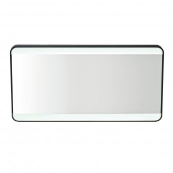 Orbit Mono Soft Square Colour Changing Bathroom Mirror with Demister Pad 600mm H x 1200mm W