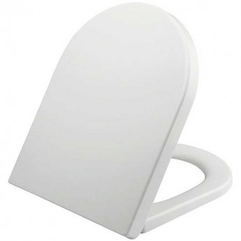 Orbit Omni Back To Wall Toilet Pan 520mm Projection - Wrapover Soft Close Seat