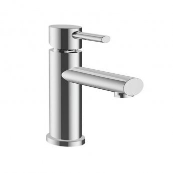 Orbit Pino Mono Basin Mixer Tap Single Handle with Push Button Waste - Chrome