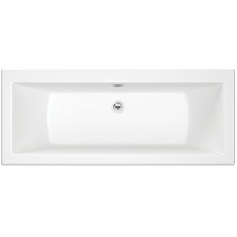 Orbit Solarna Double Ended Rectangular Bath 1700mm x 700mm - Acrylic
