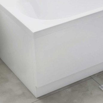 Orbit SuperStyle Bath Front Panel and Plinth 510mm H x 1700mm W - White