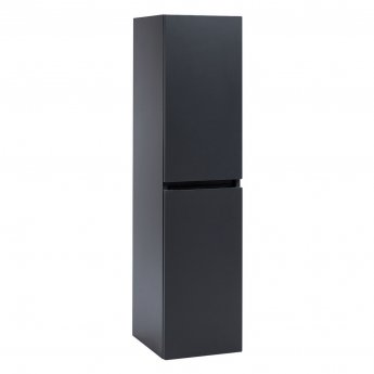 Orbit Supreme Wall Hung Tall Storage Unit 300mm Wide - Graphite Grey
