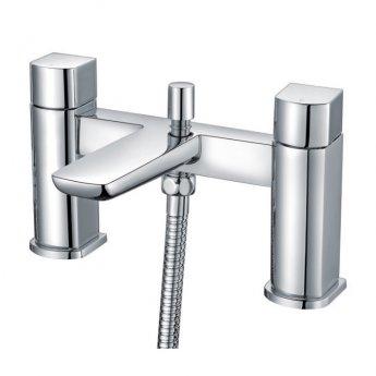 Orbit Uno Bath Shower Mixer Tap Pillar Mounted - Chrome