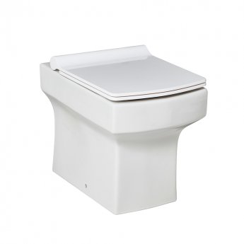 Orbit Vola Back to Wall Toilet 365mm Wide - Soft Close Quick Release Seat