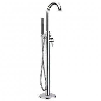 Orbit Zico Freestanding Bath Shower Mixer Tap - Chrome