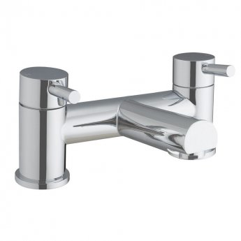Orbit Zico Bath Filler Tap Pillar Mounted - Chrome