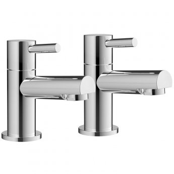Orbit Zico Lever Bath Taps Pair - Chrome