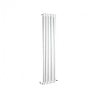 Belgravia 3 Column Vertical Radiator 1800mm H x 396mm W - White