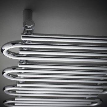 Hudson Reed Finesse Designer Heated Towel Rail 900mm H x 510mm W Chrome