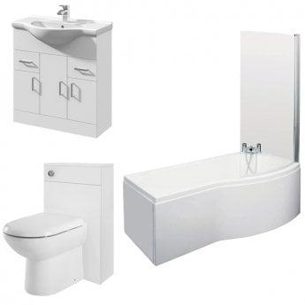 Melbourne Complete Bathroom Suite | OBPACK158 | Modern