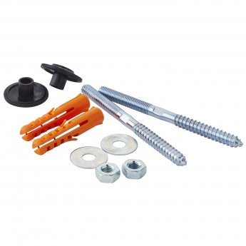 Nuie Basin Fixing Securing Bolt Set Pair
