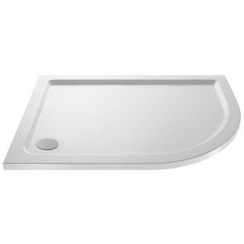 Premier Apex Offset Quadrant Shower Enclosure 900mm x 800mm with Shower Tray RH - 8mm Glass