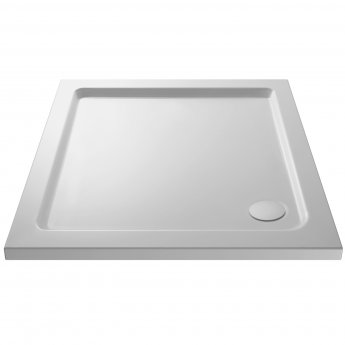 Premier Apex Hinged Shower Enclosure 900mm x 900mm with Shower Tray - 8mm Glass