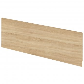 Hudson Reed Fusion Furniture Front Bath Panel and Plinth 550mm H x 1700mm W - Natural Oak