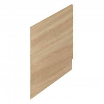 Hudson Reed Fusion Furniture End Bath Panel and Plinth 550mm H x 700mm W - Natural Oak