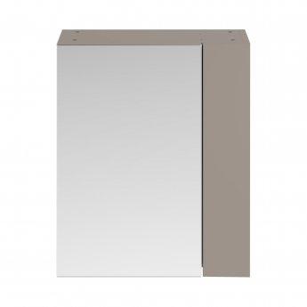 Premier Athena Mirrored Cabinet (75/25) 600mm Wide - Stone Grey