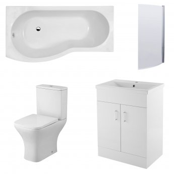 Premier Ava Furniture Bathroom Suite | PMPBW053 | Modern
