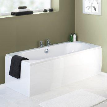 Premier Acrylic Bath Front Panel 510mm H x 1800mm W - White