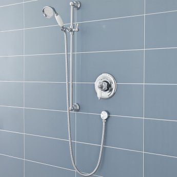 Nuie Beaumont Sequential Concealed or Exposed Mixer Shower with Shower Kit