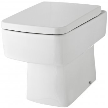 Premier Bliss Back To Wall Toilet WC 520mm Projection - Soft Close Seat