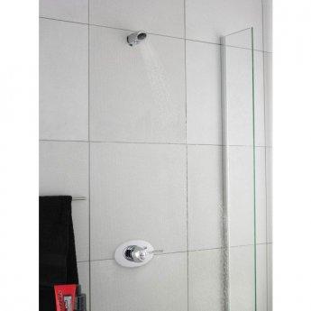 Premier Commercial Fixed Shower Head, Anti-Vandal, Chrome